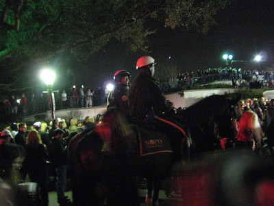 New Year's Eve 2007, NOPD on Horses