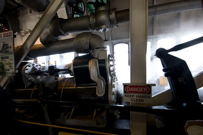 Steamer Natchez Engine Room