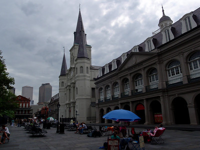 The Presbytere and St Louis Cathedral