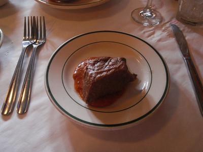 Beef Brisket at Tujaques