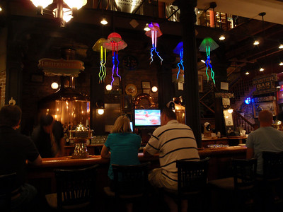 Jellyfish Above the Bar at Crescent Brewery