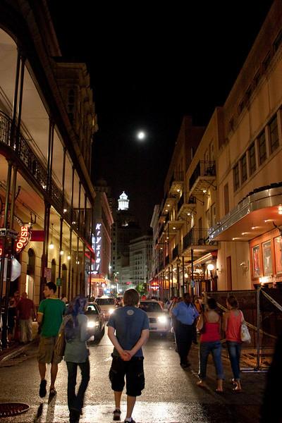 Strolling Down Bourbon Street