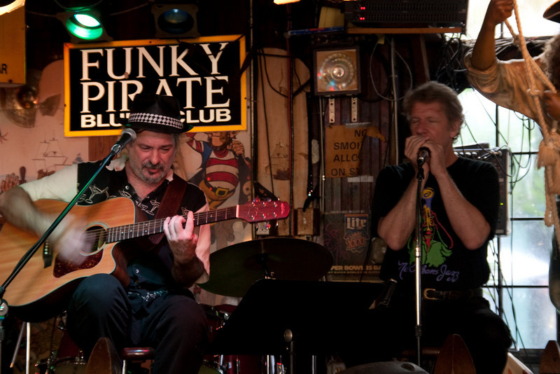 Mark Penton and Smoky Greenwell @ The Funky Pirate