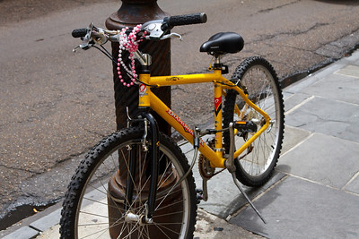 Even The Trail Bikes Have Beads
