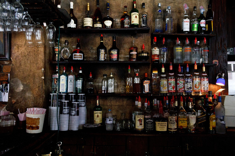 The Bar at Lafitte's Blacksmith Shop