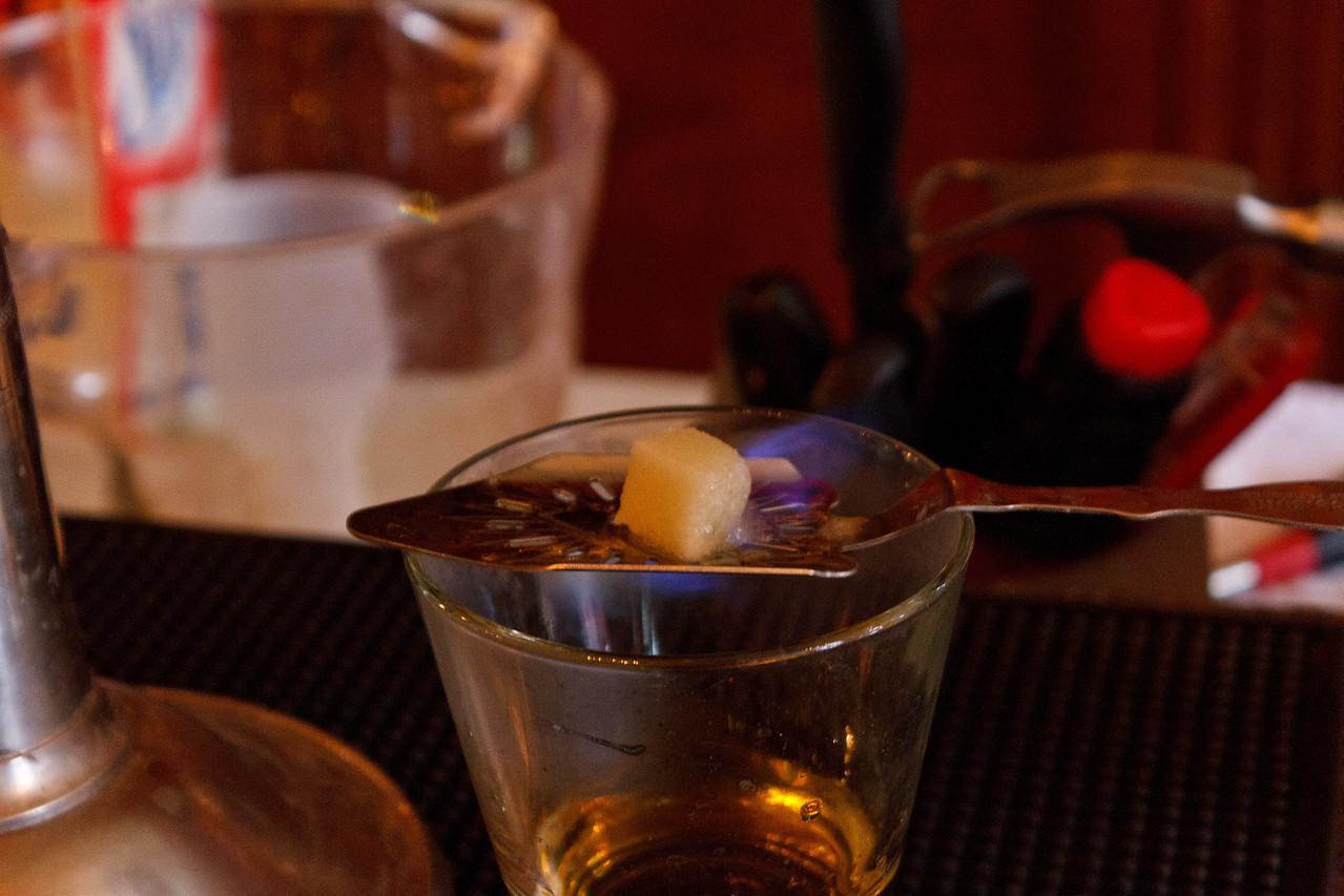 Absinthe: Burning the Sugar
