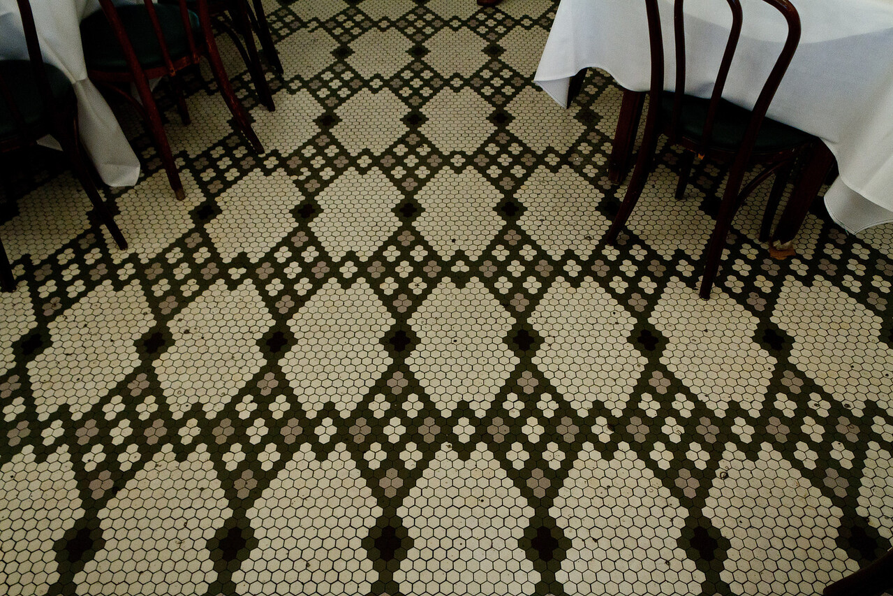 Arnaud's Tile Floor
