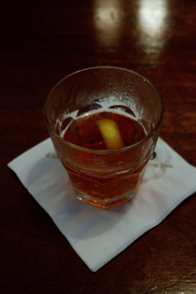 Sazerac at Hermes Bar