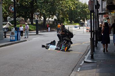 Street Musician and Artist
