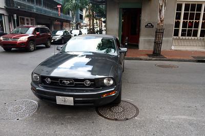 Mustang Roadblock