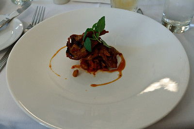Quail at Bombay Sapphire Lunch