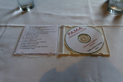 Complementary CD at PAMA Lunch