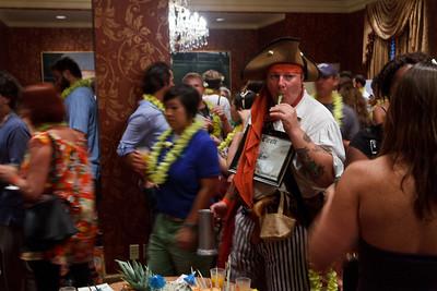 Pirate at the Botran Tiki Party