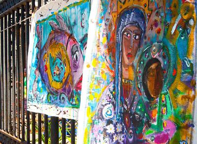 Artwork of Rene Perez at Jackson Square