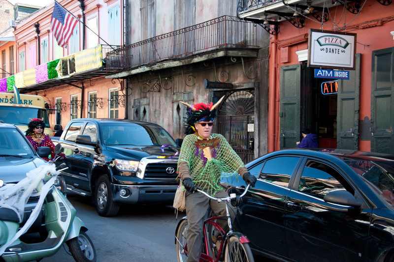 Cycling in NOLA