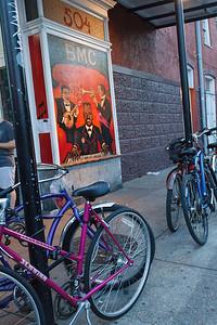 Bikes at the BMC