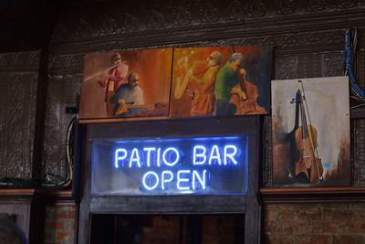 Patio Bar Open