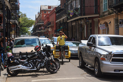 Royal Street Traffic