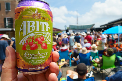Abita Strawberry at the French Market