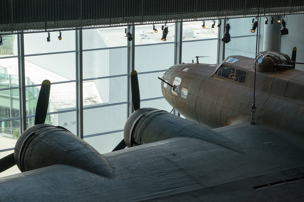 The WWII museum was very impressive and very well done. There is a separate building with vintage planes on display