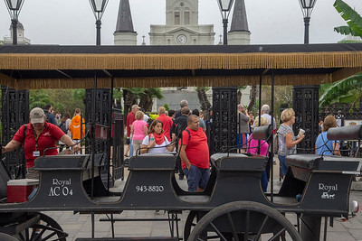 Carraige ride In the French Quarter, New Orleans, Louisiana