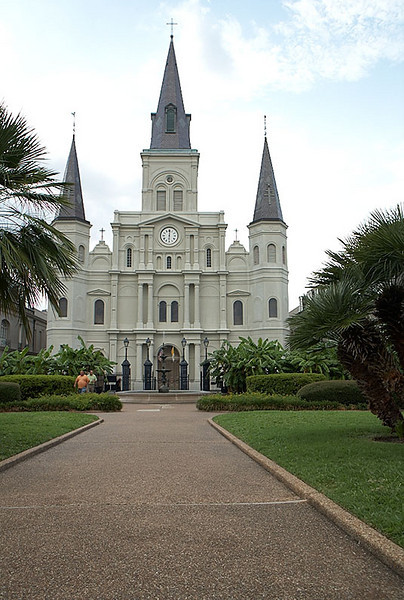 St. Louis Cathedral.