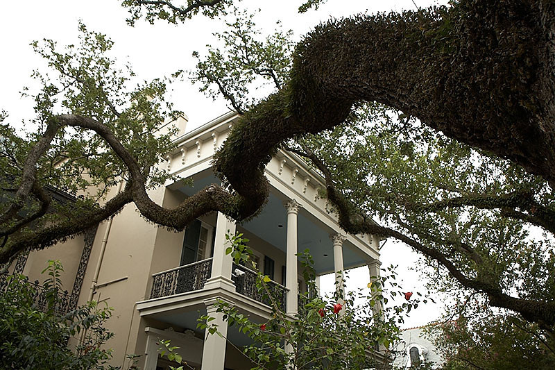 This house was once owned by the author, Anne Rice.
