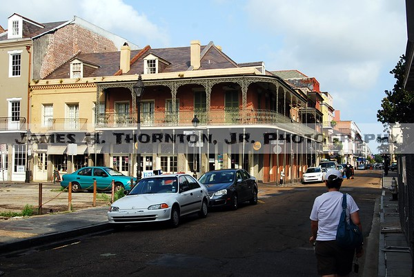 French Quarter Buildings and Balconies