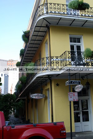 New Orleans French Quarer Balconies