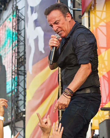 "Bruce Springsteen ~ New Orleans Jazz Festival 2012, very passionate is typical with the ""Boss""!"