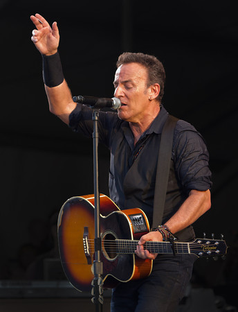 Bruce Springsteen,  New Orleans Jazz Festival 2012.