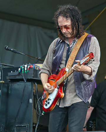 Mike Cambell ~ Tom Petty and The Heartbreakers Rock the Jazz Fest in New Orleans Saturday April 28th, 2012.