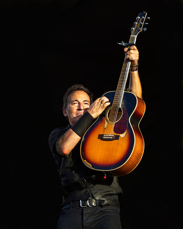 "Bruce Springsteen, AKA ""The Boss"" rocks New Orleans for three unforgetable hours!"