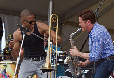 Trombone Shorty, New Orleans Jazz Festival 2012