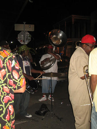 Next Generation Brass Band - on frenchman street outside