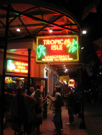 Tropical Isle (Hand Grenades are kind of better than Hurricanes)