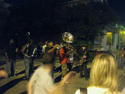 Frenchman street brass band battle