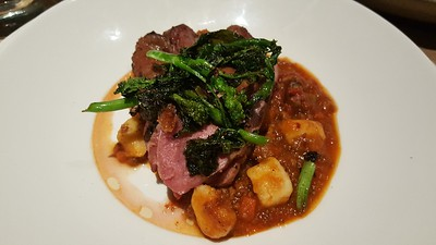 duck with gnocchi bolognese