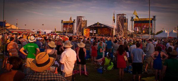 Jazz Fest 2011 Arcade Fire