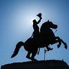 Jackson Square--Andrew Jackson statue
