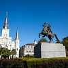 Jackson Square--St Louis Cathedral
