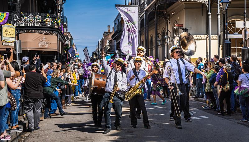 Mardi Gras 2018 - Royal Street