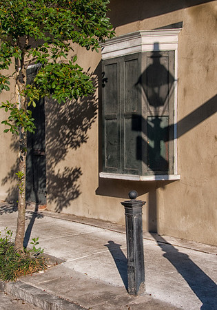 Window and Light Fixture Shadow