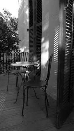 Claiborne Mansion balcony