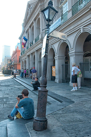 in Jackson Square, New Orleans