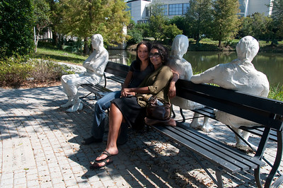 At the Sydney and Walda Besthoff Sculpture Garden, New Orleans Museum of Art