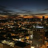 Louisiana, New Orleans, Skyline from the 360 degree club at the top of the World Trade Center facing the Loews hotel