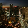 Louisiana, New Orleans, Skyline from the 360 degree club at the top of the World Trade Center facing Canal Street