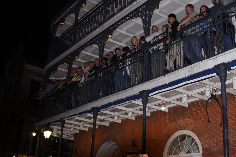 Balcony shot of the Royal Sonesta