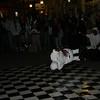 Street dancers on Bourbon